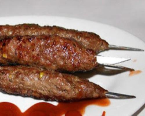كباب لحم على السيخ